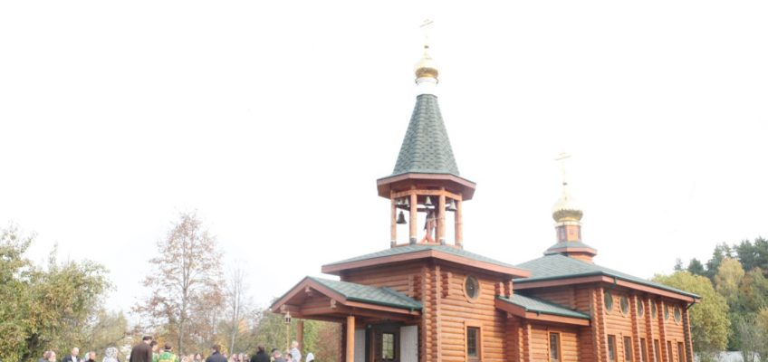 Престольный праздник в храме преподобного князя Олега Брянского в Минзаге