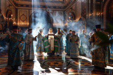 Благочинный Никольского церковного округа протоиерей Александр Балглей принял участие в торжественной встрече мощей свт. Спиридона Тримифунтского в храме Христа Спасителя