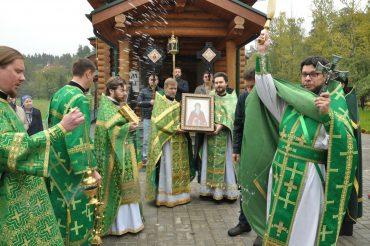 Престольный праздник новоосвященного храма преподобного благоверного князя Олега Брянского в Минзаге города Москвы